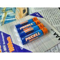 Аккумуляторные батареи -Pkcell- AAA 1000 mAh (4 шт. в блистере)