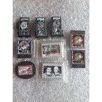 Значки-марки Почта СССР Космос Ситалл (есть редкие). Цена снижена.
