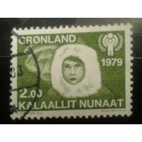 Дания Гренландия 1979 день детей