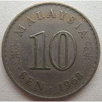 Малайзия 10 сен 1968 г. (g)