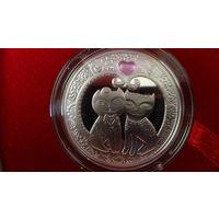 """Маё каханне"" (""Моя любовь"") , серебро , 20 рублей , 2011 год ."
