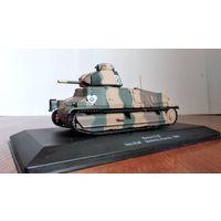 Французский танк Сомуа 1:43 Somua S-35 DLM Quesnoy France 1940 IXO ALTAYA Иксо Алтайя