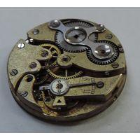 Механизм от карманных часов Павел Буре до 1917 г. Диаметр 3 см. Не исправный.