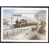1994 Либерия 1607 / B136 Локомотивы