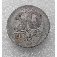 50 филлеров 1967 Венгрия #01