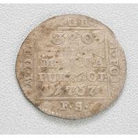 1 грош 1767 год