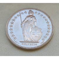 2 франка Швейцария 2015, 1995