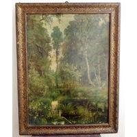 Картина в раме. 47х61 см.