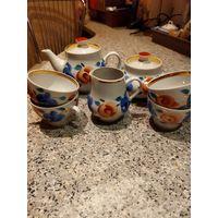 Чайная посуда, Барановка 60-70