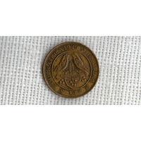 ЮАР фартинг 1/4 пенни 1949 //фауна ///(ON)