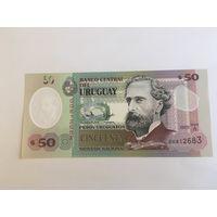 Уругвай 50 песо  2020 пресс