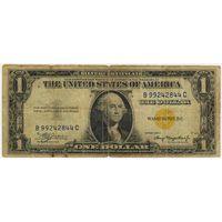 1 доллар 1935 год. Северная Африка.Желтая печать.. Редкий!!!