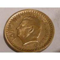 5. Монако 1 франк без года*