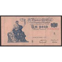 Аргентина, 1 песо  1947 года.
