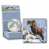 Монета Canada $100 серебро