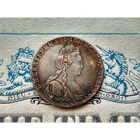 Монета РИ, 1 рубль 1782.