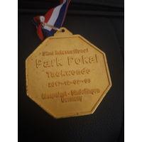 Медаль таэквандо (taekwondo)