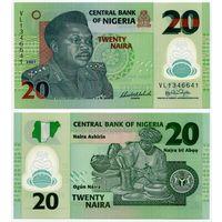 Нигерия. 20 найра (образца 2007 года, P34b, UNC)