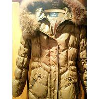 Куртка зимняя, тёплая. Цвет коричневый