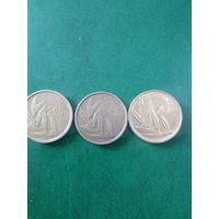Сборный лот Бельгии 20 франков  погодовка без повторов