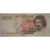 Италия 100000 лир 1994 г. (g)