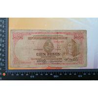 Уругвай 100 песо 1939 года редкая