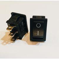Клавишный переключатель RS-3102A-C-3 black   10A 125V AC / 6A 250V AC