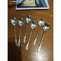 071 Набор из 6 ложек серебрение АРТ ДЕКО