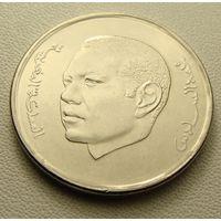 """Марокко.  1 дирхам 2012 год  Y#139  """" Правитель - Мухаммед VI"""""""