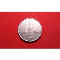 10 геллеров 1996. Словакия.