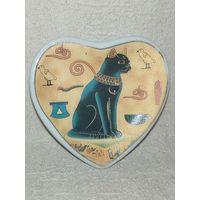 Магнит Египет кошка Магнитик на холодильник фарфор