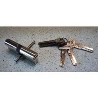 Цилиндровый механизм Apecs 80 (40 - 40) (сердцевина для замка) ключ с двух сторон