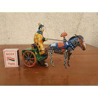 Старая игрушка Цирковой выезд. Состояние на фото.