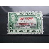 Марка - Британские колонии, Фолклендские острова (Фолкленды)