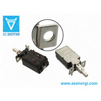 Кнопка силовая с фиксацией LN KDC-A11 4A/128A 250V