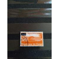 1969 Конго надпечатка  самая дорогая марка серии (4-15)