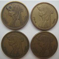 Египет 50 пиастров 2007, 2008, 2010, 2012 гг. Цена за 1 шт. (g)