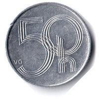 Чехия. 50 геллеров. 2000 г.