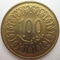 Тунис 100 миллимов 2013 г. (d)