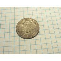 6 грошей 1757 Пруссия.