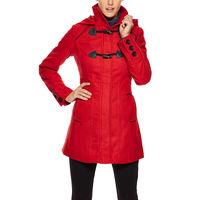 Пальто Yoki Toggle Hooded Long Coat деми размер М