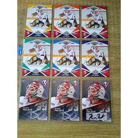 Барри Браст - 9 карточек 9 сезон КХЛ одним лотом.