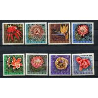 Польша - 1968 - Экзотические цветы - [Mi. 1836-1843] - полная серия - 8 марок. MNH.