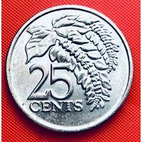 14-23 Тринидад и Тобаго, 25 центов 2008 г.