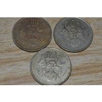 Кипр 10 центов (88,93,94)