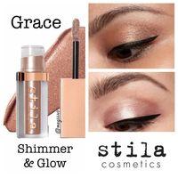 Кремовые тени Stila Shimmer&Glow Liquid Eye Shadow (оттенок:  Grace)