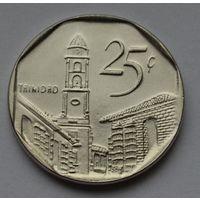 Куба 25 сентаво, 2008 г.