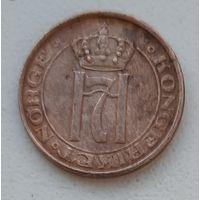 Норвегия 1 эре 1936_маленькая монетка_km#367