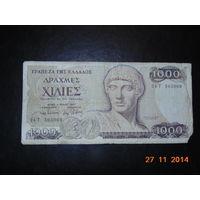 Греция 1000др. 1987г.