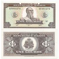 Гаити 1 гурд образца 1989 года UNC p253
